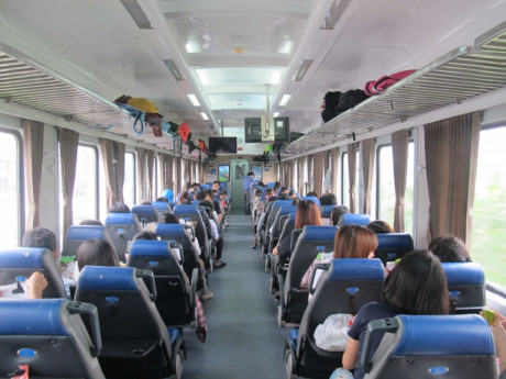 vận chuyển hành khách bằng tàu hỏa chất lượng cao